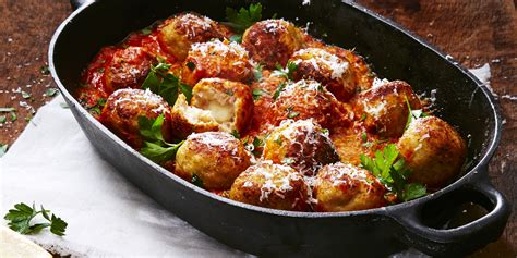 Readers Recipe Bowl Meatballs by Best Mozzarella Stuffed Turkey Meatballs Recipe How To