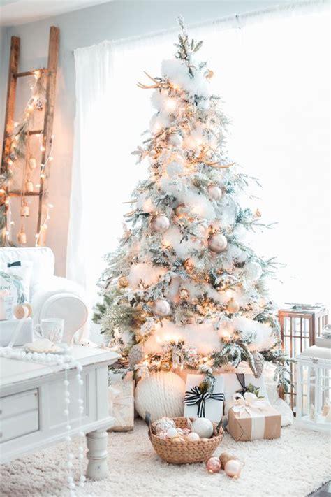 Agradable  Arbol De Navidad Blancos #2: Tendencias-decorar-arbol-navidad-2017-2018-9.jpg