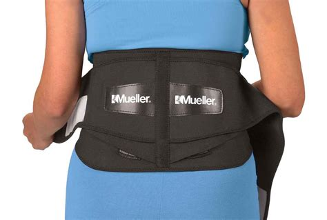 back brace mueller lumbar support back brace with pad ebay