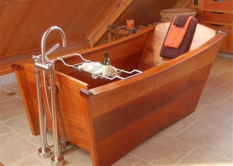 How To Make Wooden Bathtub by Wood Bathtub Bathware