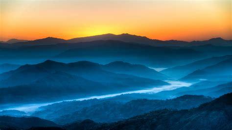 imagenes de paisajes azules fondos de pantalla de montanas azules y rios tama 241 o 400x250