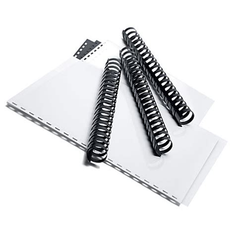Office Depot Binding Office Depot Brand Comb Binding Spines 1 Comb Size Pack Of