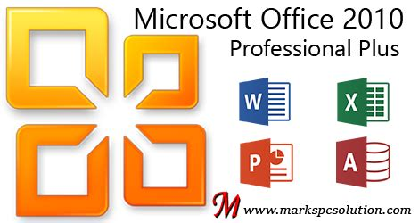 microsoft office 2010 professional plus for windows computers 32 microsoft office professional plus 2010 marks pc solution