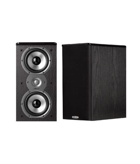 buy polk audio tsi200 bookshelf speaker pair black