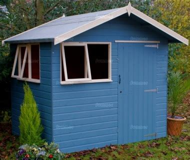 Coloured Garden Sheds by Shiplap Transverse Apex Shed 430 Painted Joinery Windows