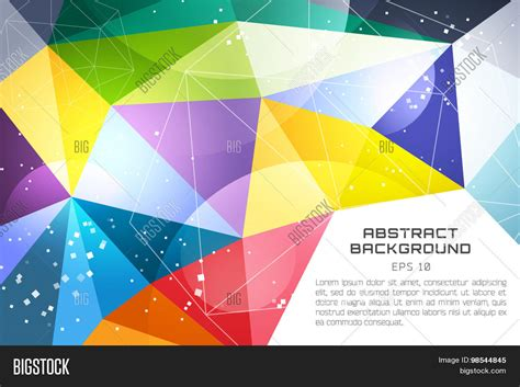 triangle color pattern vector abstract background vector technology wallpaper triangle
