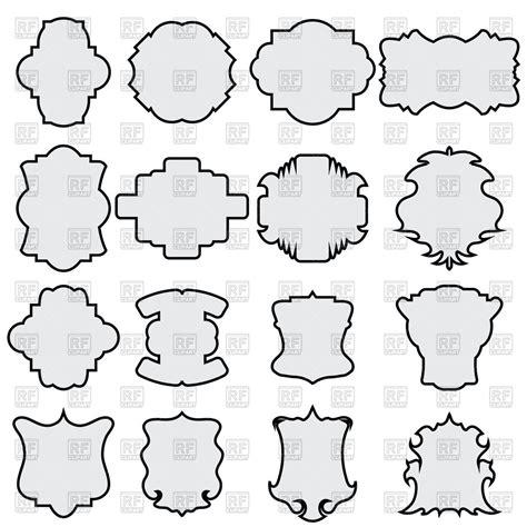 Chape Decorative by Decorative Shapes Clipart Clipart Suggest