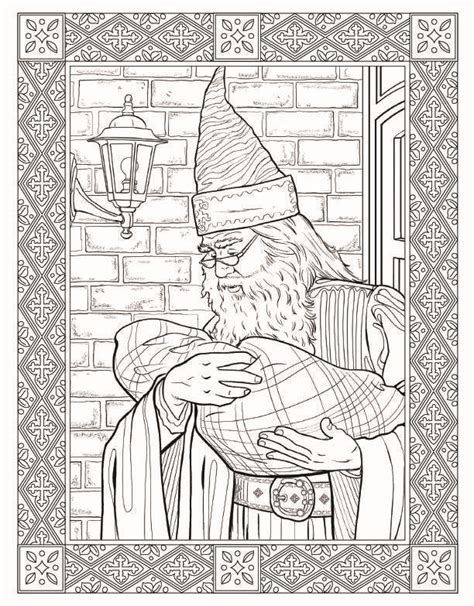harry potter coloring pages dumbledore all about the harry potter the coloring book