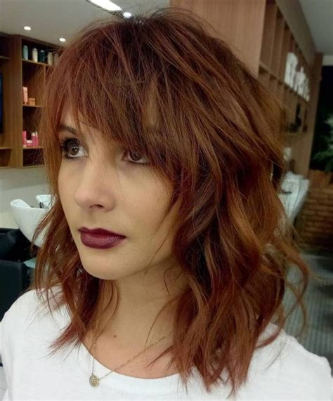 makeover hair styles bob bangs 20 modern ways to style a long bob with bangs messy