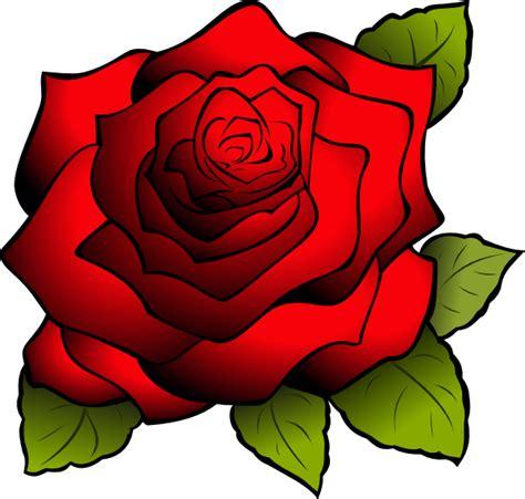 tattoo rose png red rose clip art at clker com vector clip art online