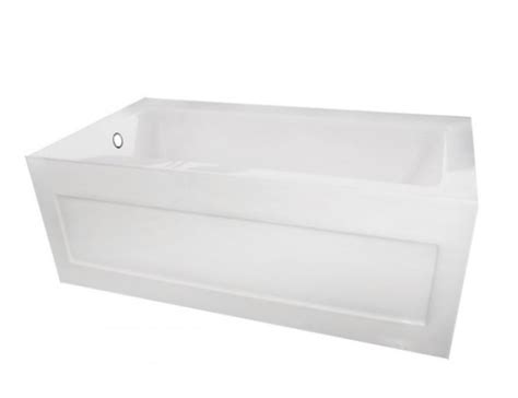 54 acrylic bathtub bliss bath bijou 54 non standard 54 quot acrylic bathtub 54