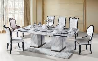 8 seater rectangle marble dining table from ntuple