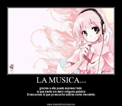 imagenes anime musica otaku anime desmotivacionesanime lanochefriki taringa