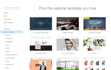 Wix 2019 Review Why 4 9 Stars Buy Wix Templates
