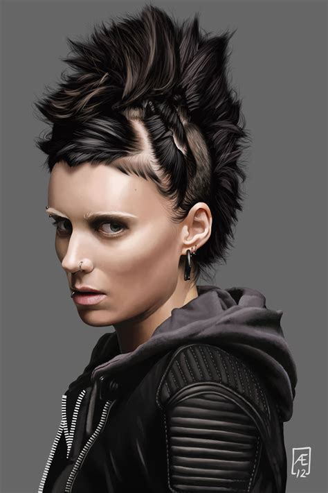 tattoo girl with dragon the girl with the dragon tattoo by aedrian on deviantart