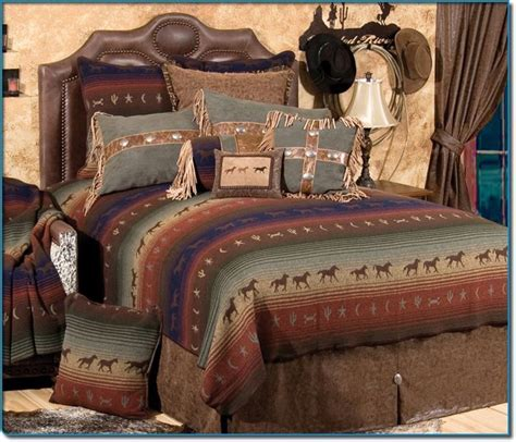 western style bedding pin by bettye johnson on western style furniture pinterest