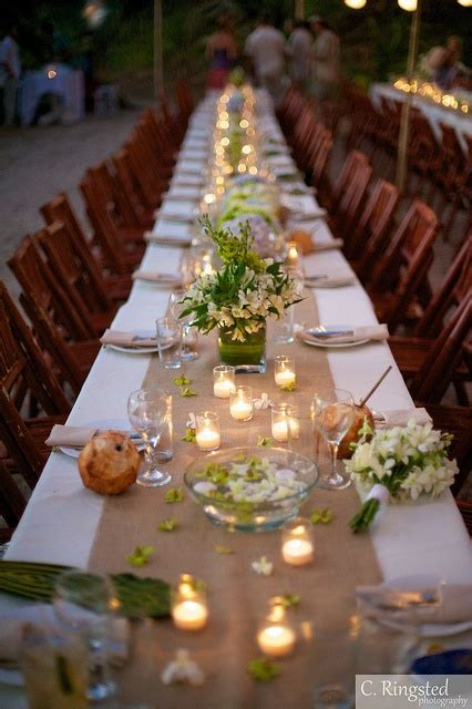 Table Setting For Wedding by Wedding Table Setting On Wedding Table