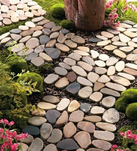 garten ideen kieselsteine gartengestaltung mit steinen verk 246 rpert die ewigkeit