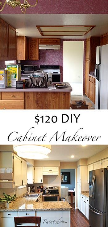kitchen cupboard makeover painted new 120 kitchen cabinet makeover