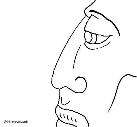 imagenes de caras mayas dibujo de cara para colorear dibujos net