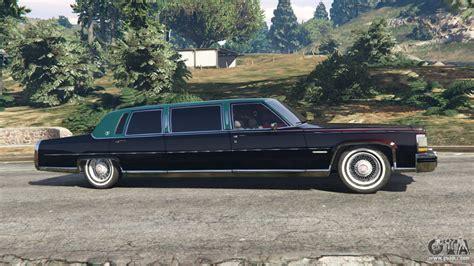 Gta 5 Cadillac Cadillac Fleetwood 1985 Limousine Beta For Gta 5