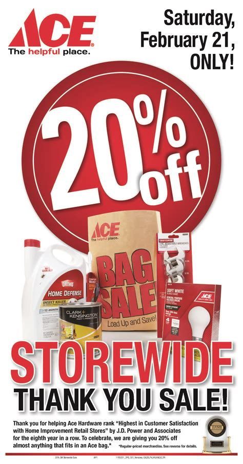 ace hardware festival citylink ace hardware 20 off store wide sale the aha connection