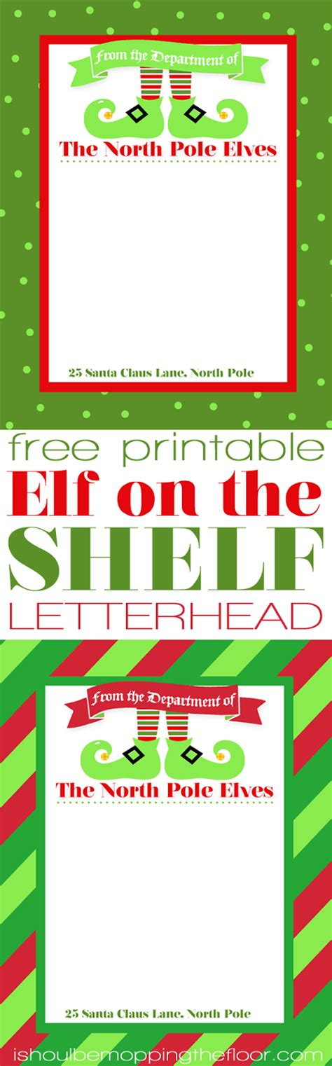 printable elf on the shelf stationary i should be mopping the floor free printable elf on the