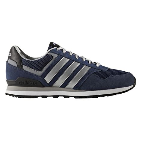 Best Product Sepatu Sport Casual Adidas Neo City Racer Biru Navy 1 lyst adidas neo 10k casual trainers in black for