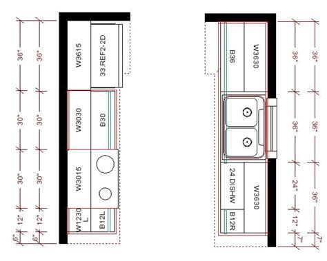 galley kitchen floor plans galley kitchen layout galley