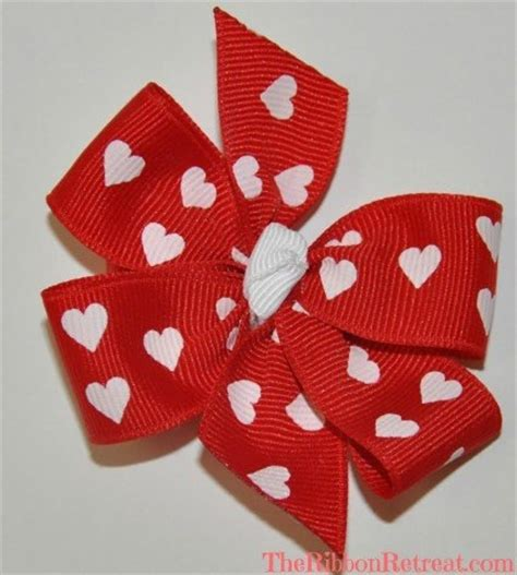 valentines day bow s day bow feature the ribbon retreat