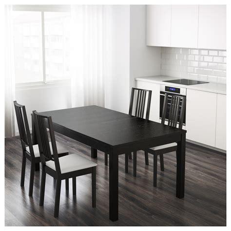 ikea bjursta extendable table brown black ikea mesa comedor hermosa bjursta extendable table brown