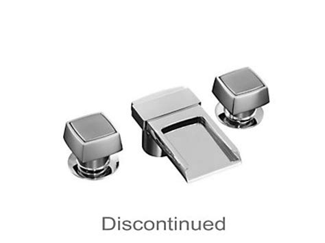 Kohler Alterna Faucet Parts by Alterna 174 Widespread Lavatory Faucet With Square Handles
