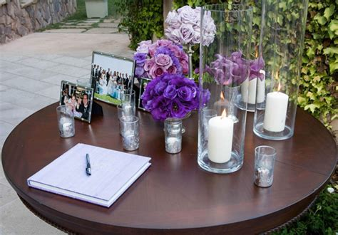 how to decorate the guest book table weddingelation