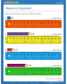 measuring cm worksheet scalien