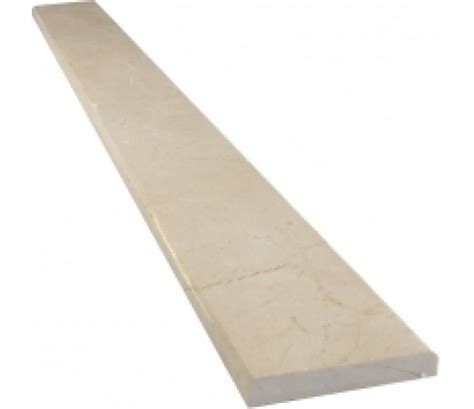 crema marfil marble threshold polished 4 quot x36 quot x3 4 quot standard bevel