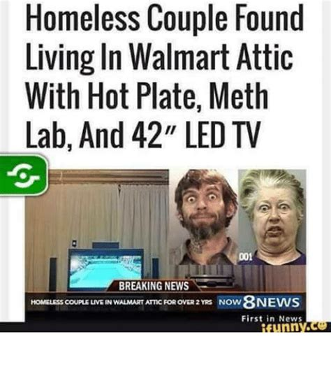 living in the attic of walmart homeless found living in walmart attic with