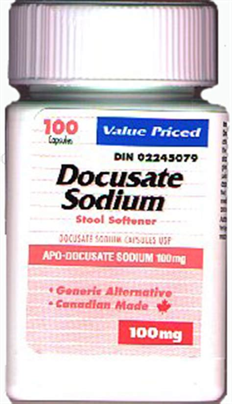Phillips Stool Softener Dosage by Docusate Patient Information Description Dosage And