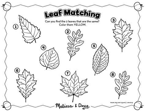 leaf pattern activities lively leaf activities melissa doug blog