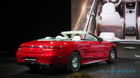 the mercedes maybach s 650 cabriolet is kinda