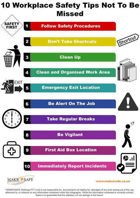 10 Safety Tips To Follow In Your Home by Workplace Safety Tips 10 Workplace Safety Tips Not To Be