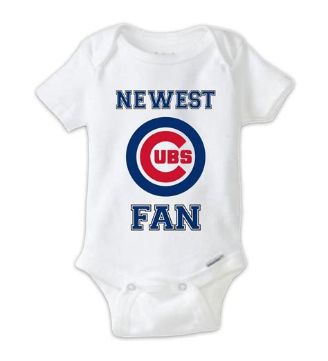 cubs newborn fan chicago cubs fan baby onesie cubs bodysuit cubs onesie