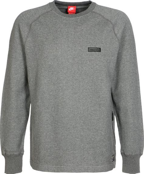 Sweater Nike Fc nike fc city crew sweater grijs flecked