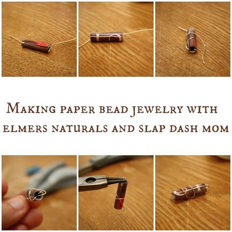 Paper Earrings Tutorial - paper bead earrings tutorial