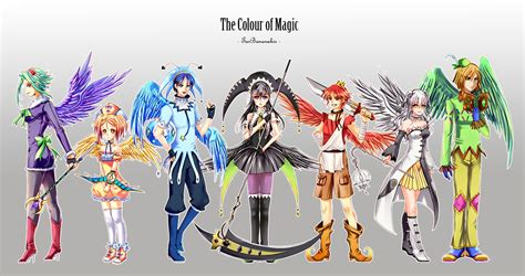 the color of magic the colour of magic by lord tar on deviantart