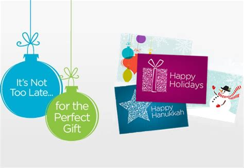 Last Minute Gift Idea Gift Cards - missing something the best last minute gift idea