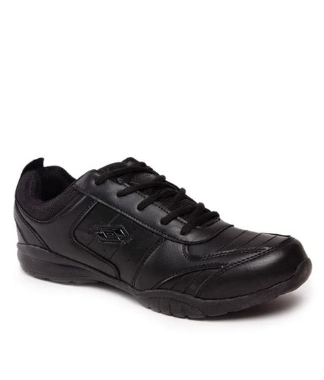 lotto proactive black sports shoes price in india buy