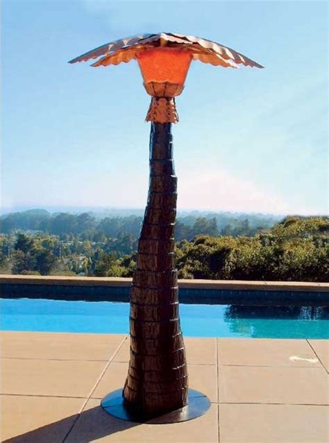 palm tree for patio palm tree patio heater and mister year comfort