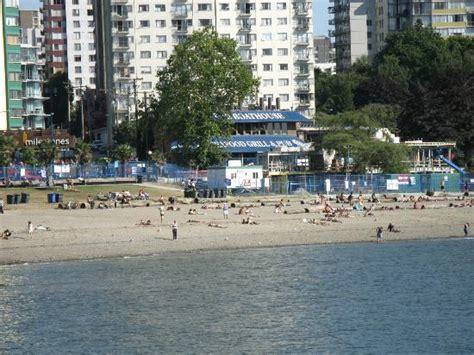 the boat house vancouver boathouse restaurant from the beach picture of the boathouse vancouver tripadvisor