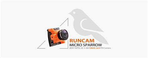 Runcam Sparrow Micro 16 9 Cmos Fpv 2 1mm Wdr 700 Tvl runcam micro sparrow runcam fpv store