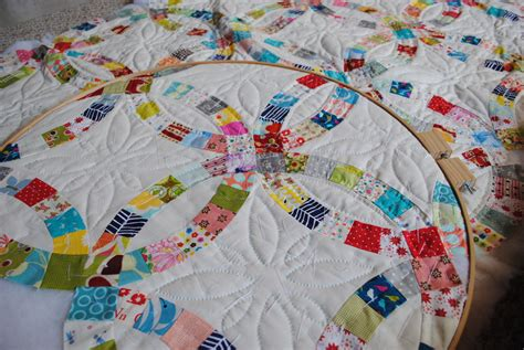 double wedding ring quilt flickr photo sharing